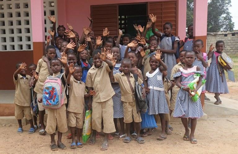 The Global Partnership to End Violence Against Children communicates on Graines de Paix