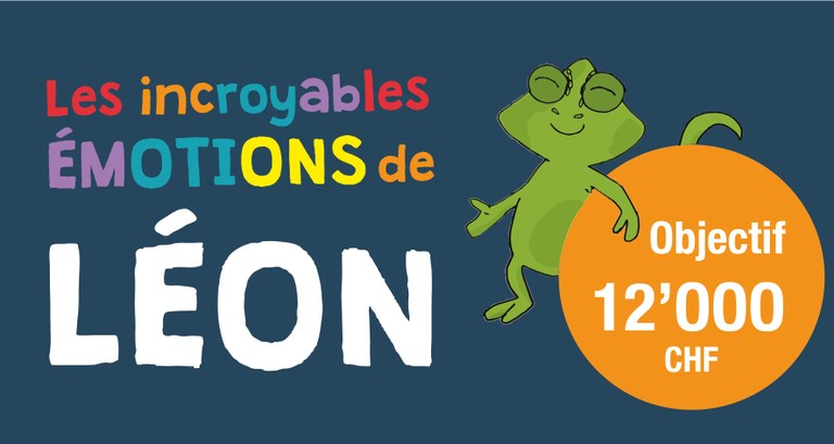 """Leon, the unbelievable chameleon"", a great children's book to fund!"
