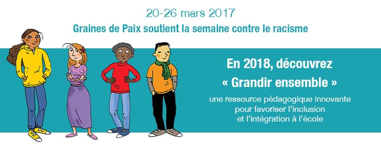 20-26 mars 2017: Semaine contre le racisme