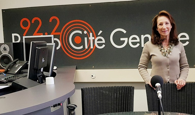 20.12.2017-Interview sur Radio Cité Genève 92.2