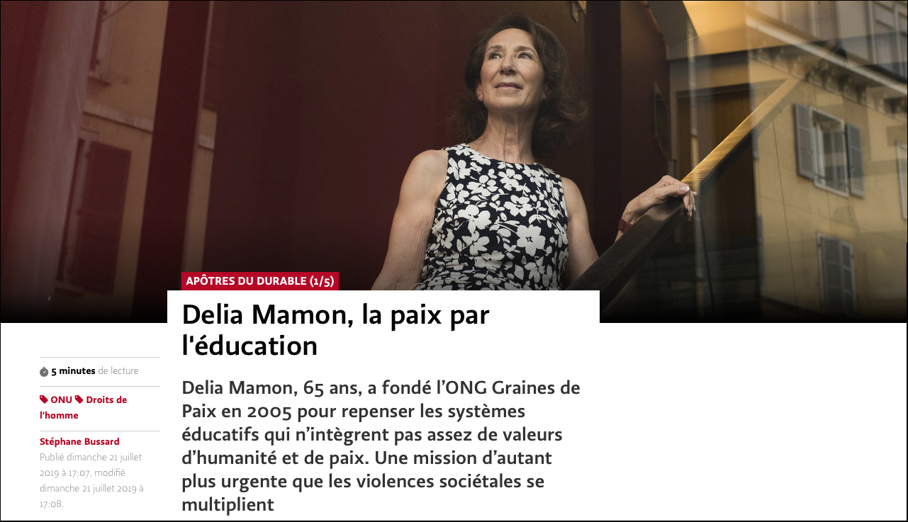 delia-mamon-apotre-du-durable-dans-le-journal-le-temps