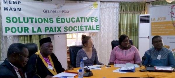 Notre projet Bénin dans le média national Fraternité