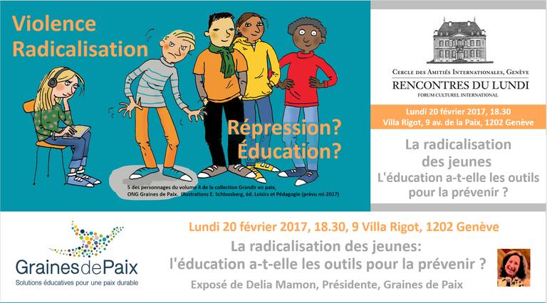 La radicalisation des jeunes:l'éducation a-t-elle les outils pour la prévenir?