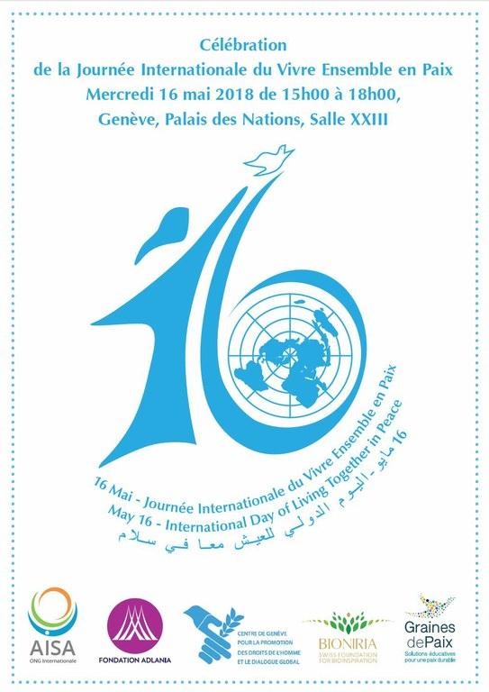 Journée Mondiale du Vivre ensemble en paix