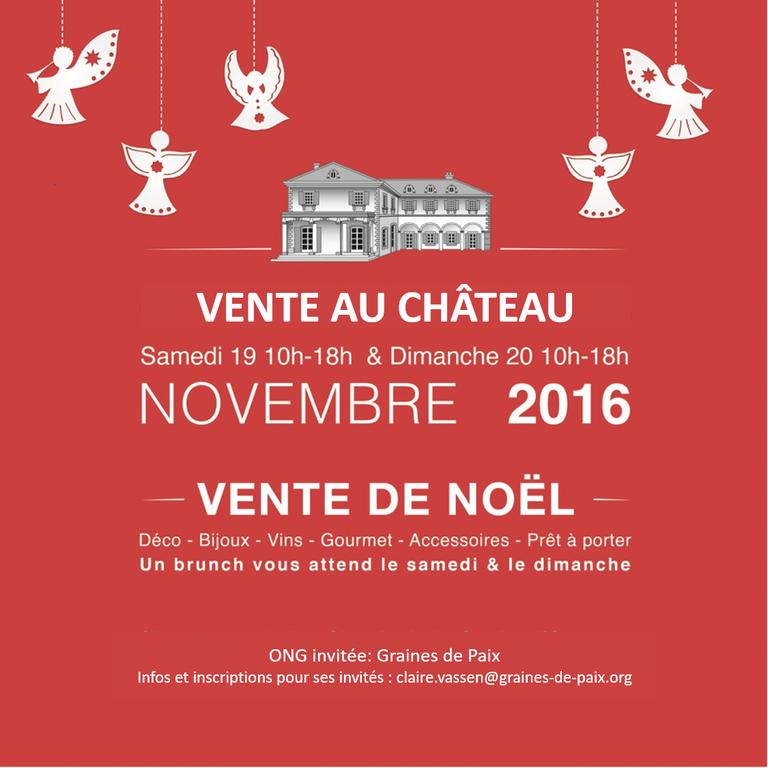Vente au Château des Bois les 19 et 20 nov. 2016